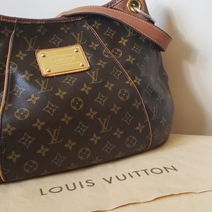 Louis Vuitton Brown Galliera PM Shoulder Bag